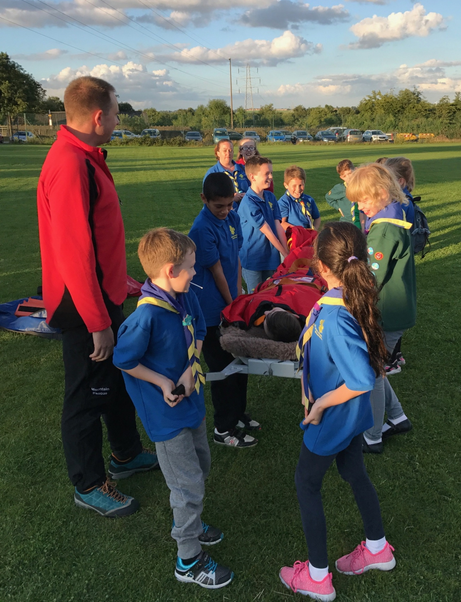 Hove Edge Scout Group visit